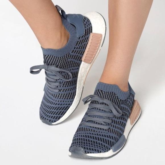 3f73faaf56d1a Adidas NMD R1 STLT primeknit shoes size 8 NWT